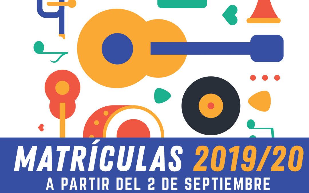 Información curso 2019-2020