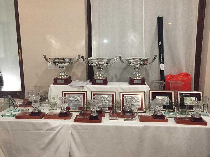 Cena de entrega de trofeos