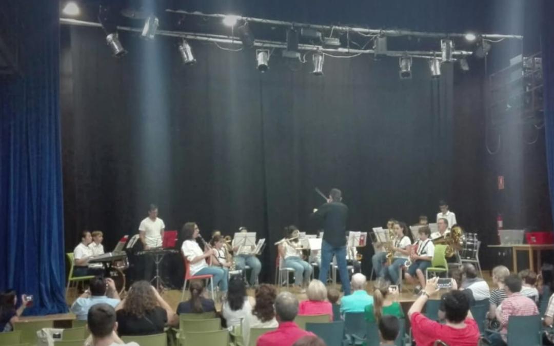 Audiciones de  nuestros educandos de música.  Final del curso 2018-2019